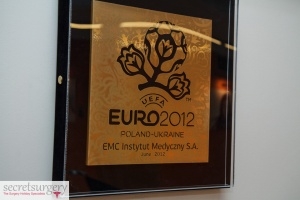 euro2012 award secret surgery