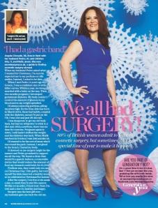 angela chouaib woman magazine