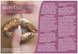 community advertiser secret surgery