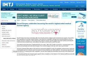 international medical travel journal secret surgery angela chouaib