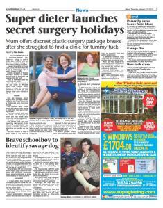 kent news angela chouaib secret surgery