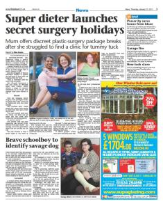 kent news angela chouaib secret surgery