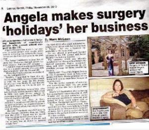 lennox herald angela chouaib secret surgery