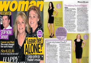 woman magazine julia boaler secret surgery