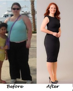 angela before and after wls