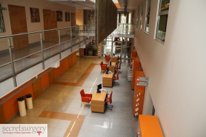 Inside the EMC Hospital in Wroclaw