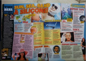sun sea and silicone