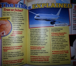 the risks explained real people magazine